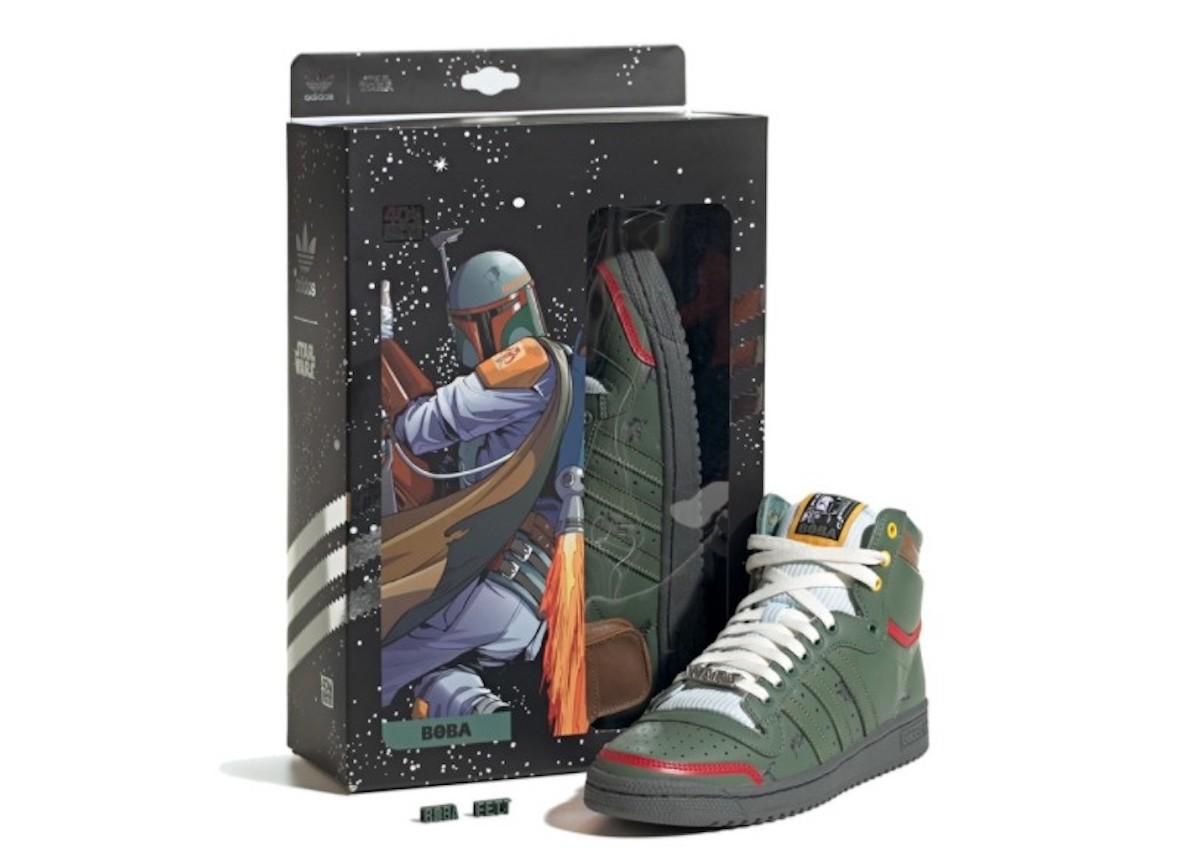 Adidas y Boba Fett (Imagen: @beastboyisaac)