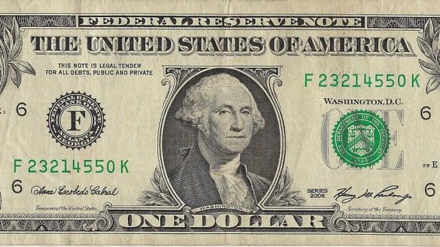 Billete de dolar
