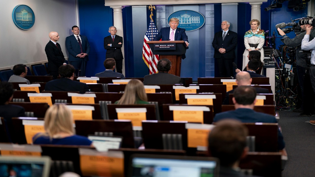 Presidente de Estados Unidos, Donald Trump (Imagen: whitehouse.gov)