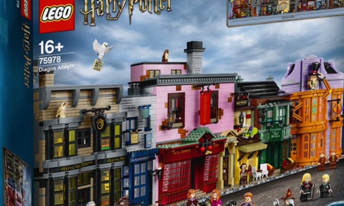 Juego de 'Harry Potter' (Imagen: Lego)