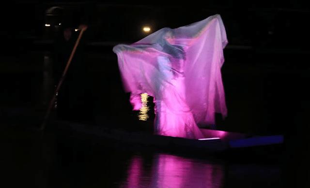 Espectáculo de La Llorona (Imagen: lalloronaenxochimilco.com)