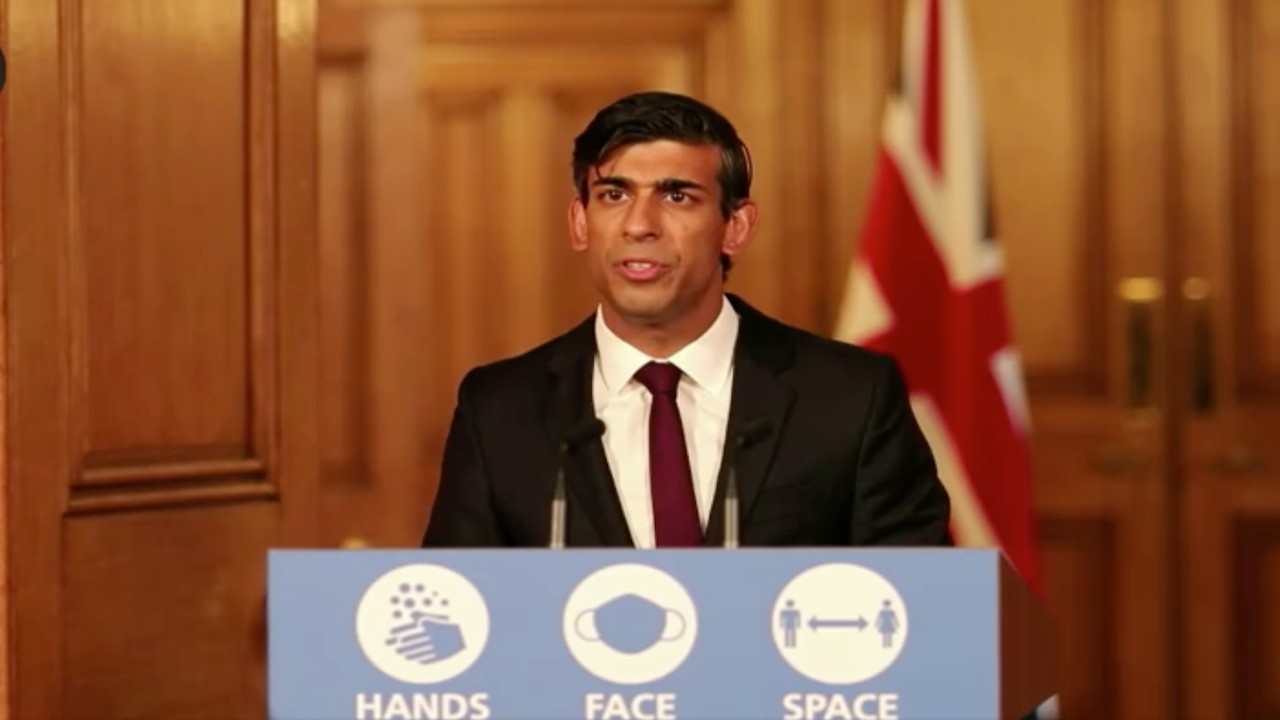 El ministro británico de Economía, Rishi Sunak (Imagen: Twitter @RishiSunak)