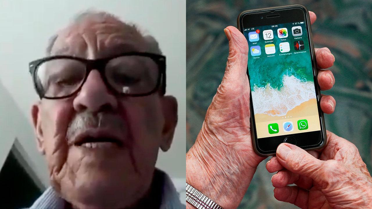 Don Roberto de 91 años sufre robo de 300 mil pesos por fraude