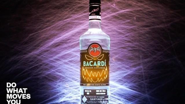 Bacardí lanzará botella que brilla (Imagen: Bacardí México)