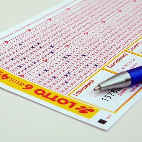 Boleto de loteria (Imagen: pixabay)