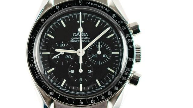 Reloj que estuvo 188 días en el espacio (Imagen: Omega)
