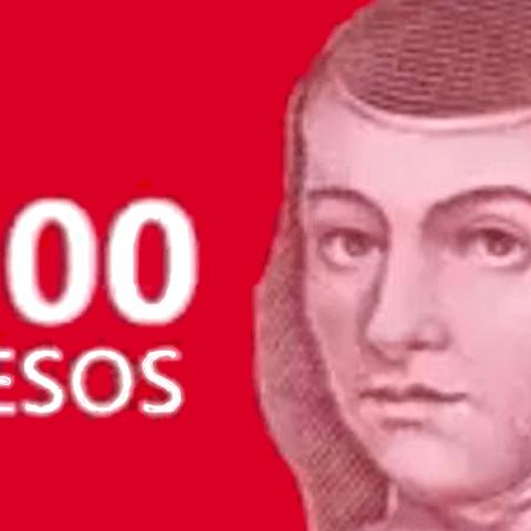 El nuevo billete de 100 pesos tendrá la imagen de Sor Juana