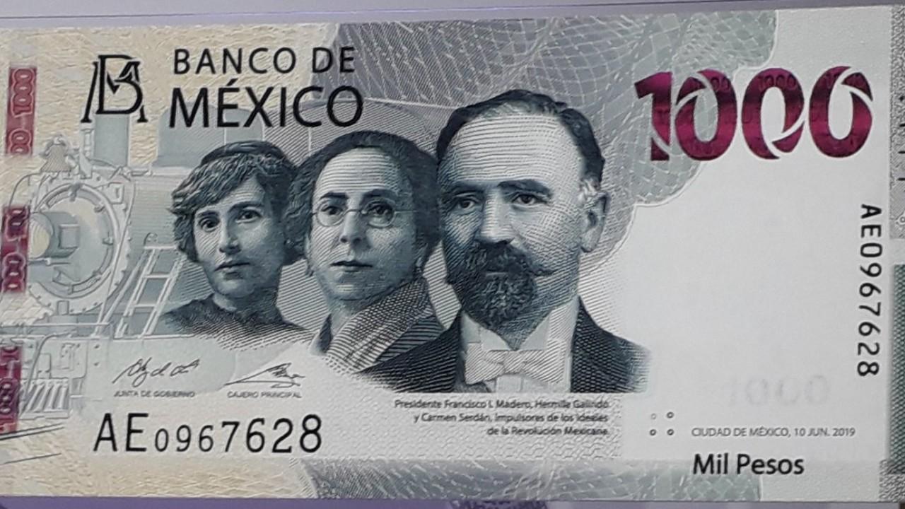 Banxico lanza nuevo billete de mil pesos por la Revolución Mexicana