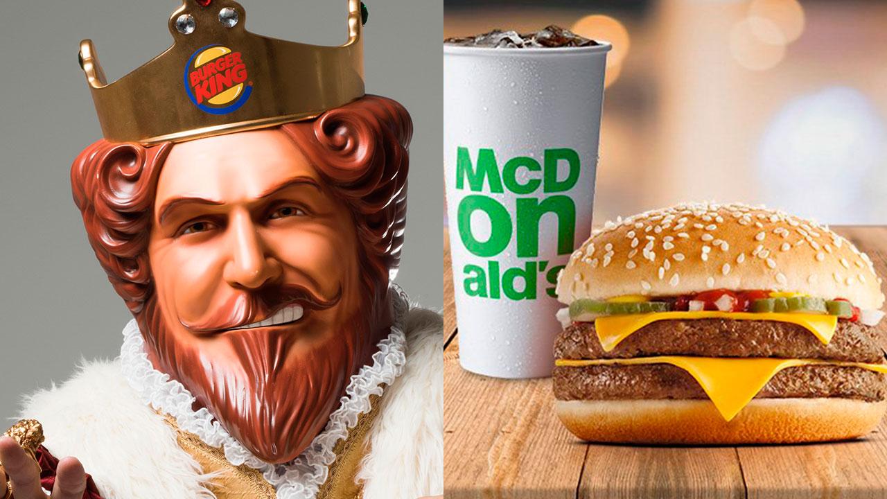 Burger King pide a sus clientes comprar en McDonald's