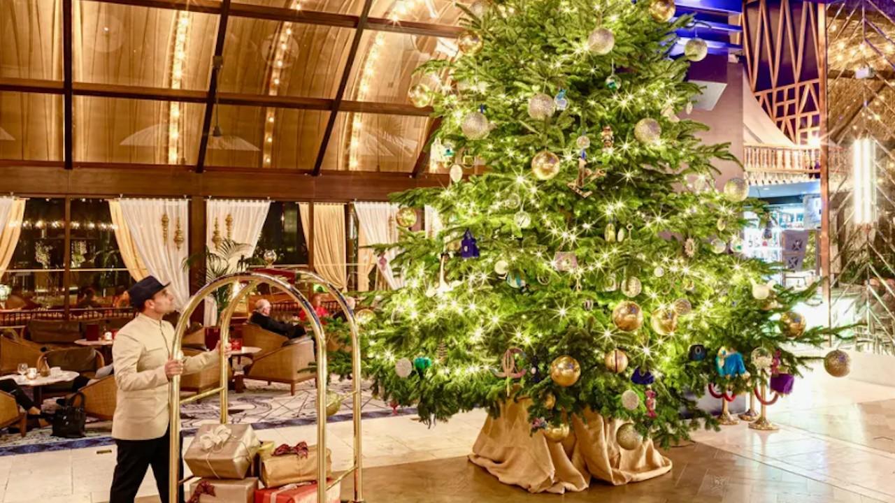Árbol de Navidad más caro del mundo (Imagen: Hotel Kempinski Bahía)