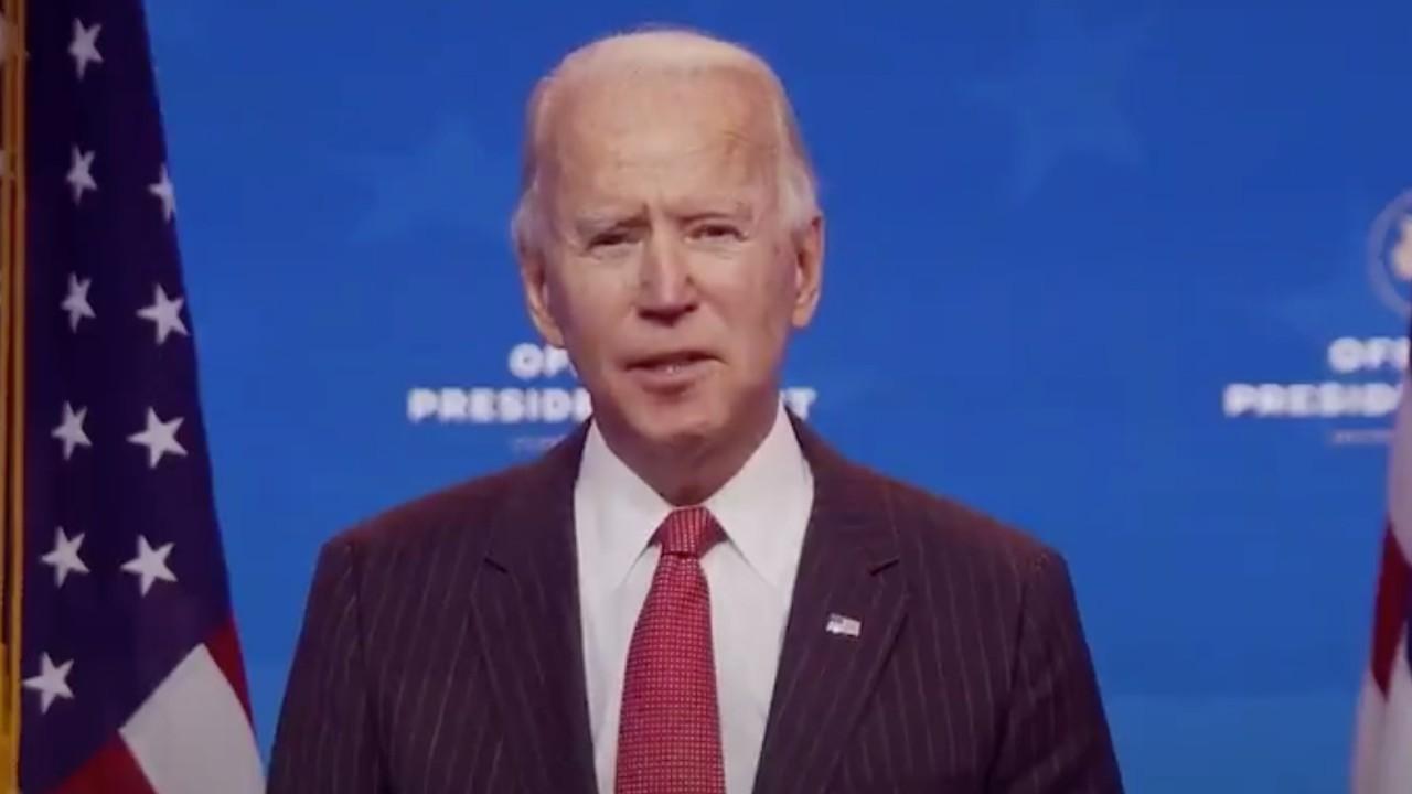 El presidente electo de Estados Unidos, Joe Biden (Imagen: Twitter @JoeBiden)