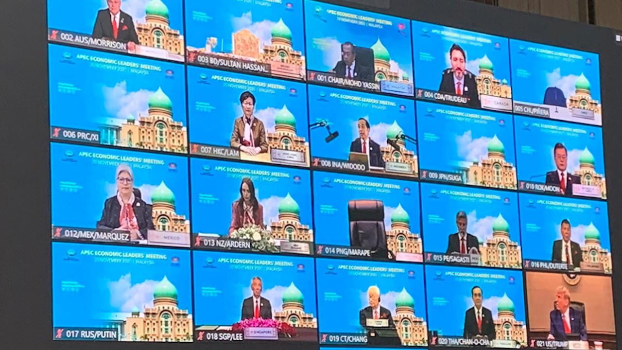 Foro de la APEC 2020 de manera virtual (Imagen: Twitter @AusHCMalaysia)