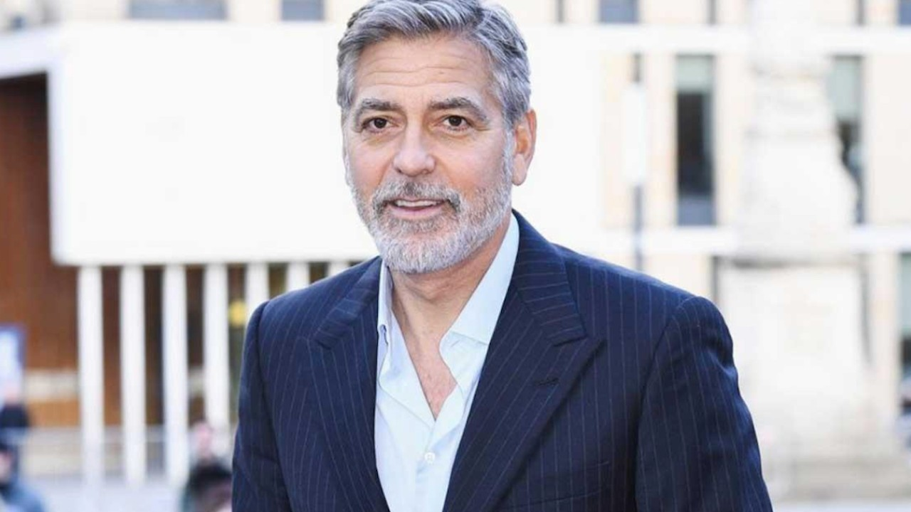 El actor George Clooney (Imagen: Twitter @GovaStiletogr)