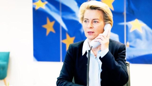La presidenta de la Comisión Europea, Ursula von der Leyen (Imagen: Twitter @vonderleyen)