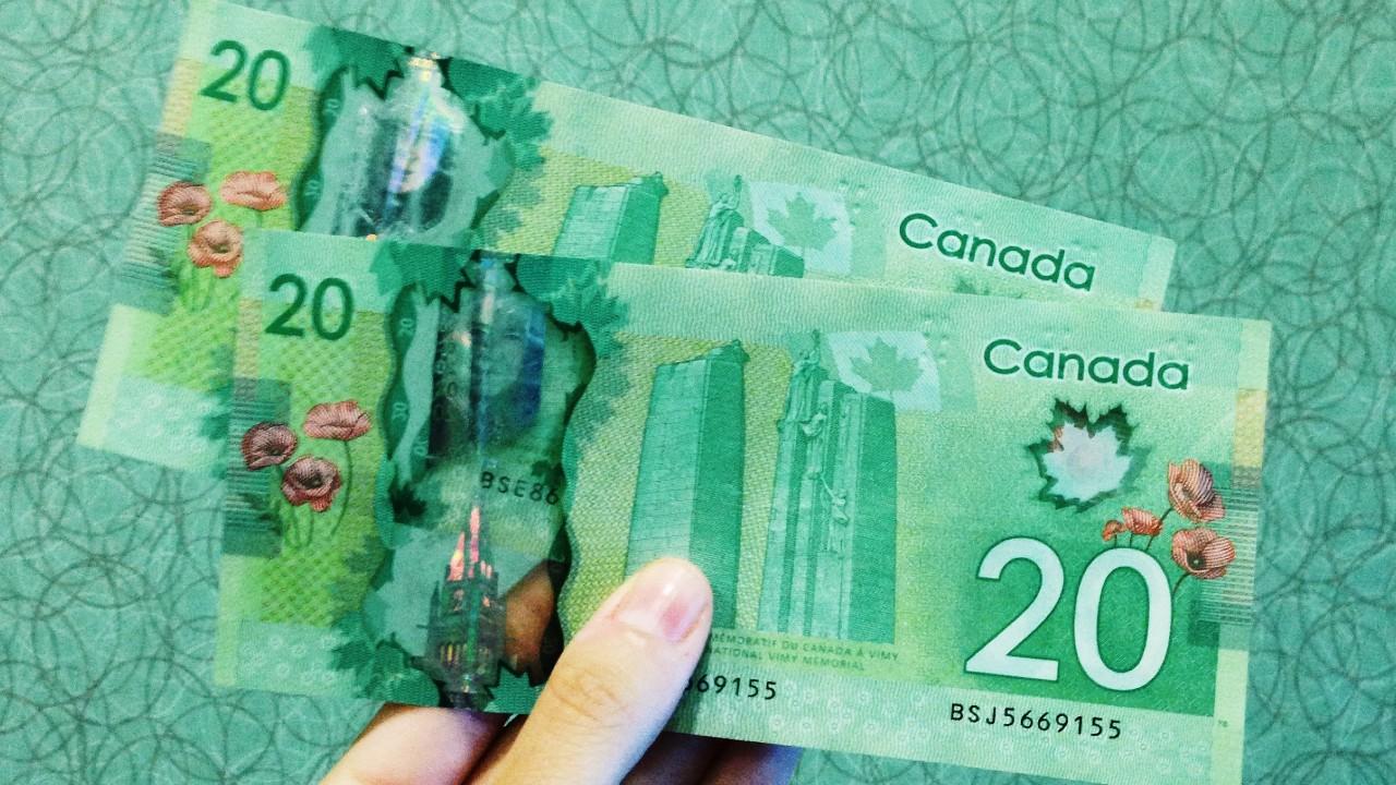 Cómo le fue al dólar canadiense en la semana