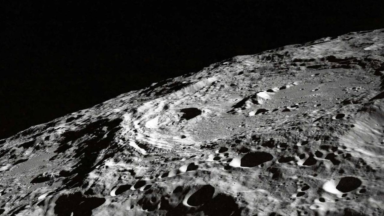 Superficie de la Luna (Imagen: Twitter @farhadkaiser2)