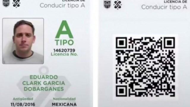 Licencia de conducir digital en CDMX (Imagen: Twitter @LaAgenciaCDMX)