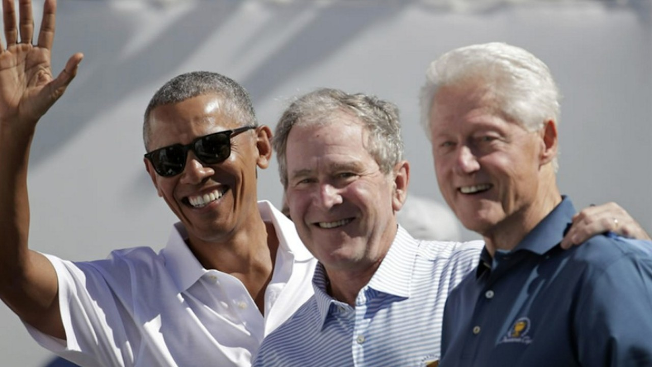 Los expresidentes Obama, Bush y Clinton se vacunarán contra Covid-19 (Imagen: Twitter @CatchTheBaby)