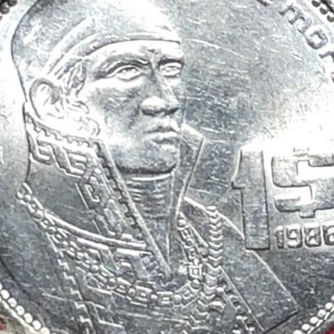 Esta moneda de 1 peso de Morelos se vende en mil pesos