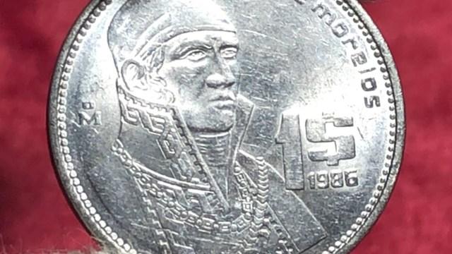 Estas dos monedas de Morelos y Pavón se cotizan en páginas de ventas por internet en 28 mil pesos