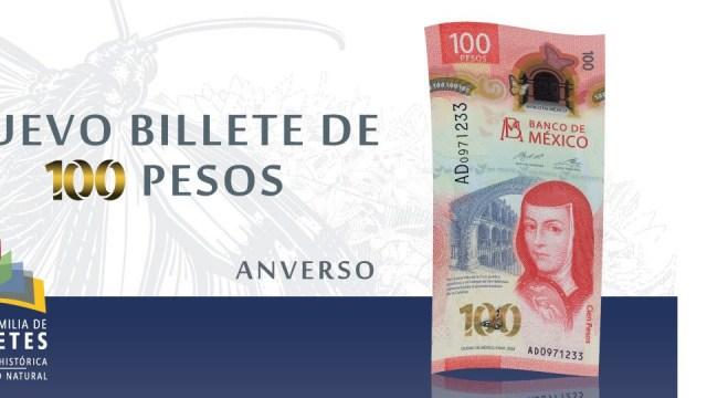 ¿Cuáles son los nuevos billetes de 100 pesos que son coleccionables?