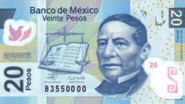 Billete de 20 pesos se vende en casi 50 mil pesos