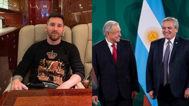 Esto costó la renta del avión de Messi al presidente de Argentina