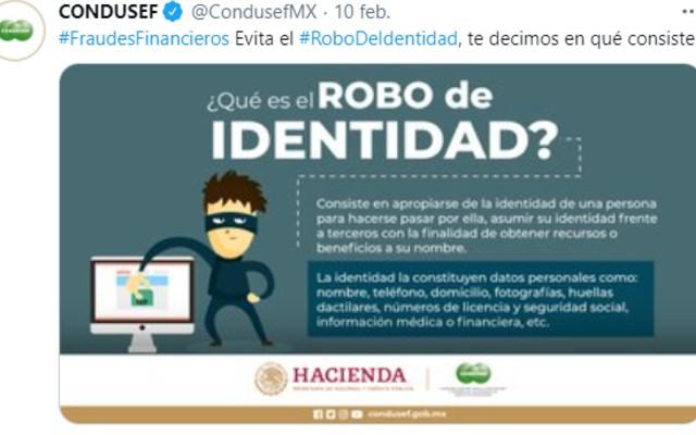 La Condusef da constantemente en sus redes sociales información a usuarios financieros