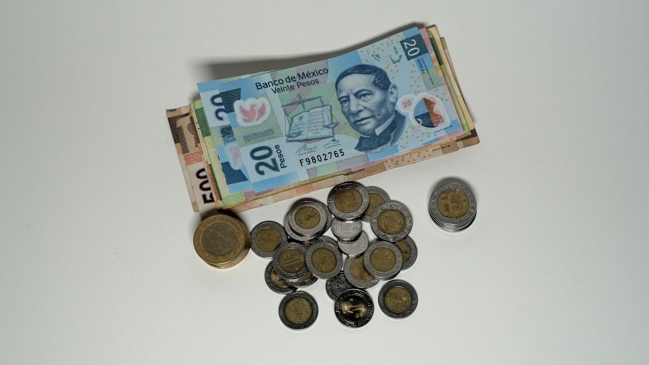 Venta de billete de 20 pesos mexicanos en internet