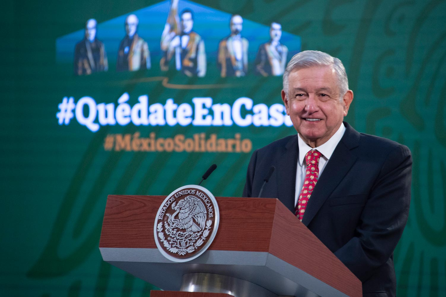 Quadratín: Reprocha López Obrador que 10 países concentren 80% de vacunas