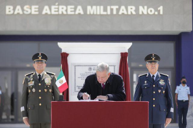 militares tienen presencia en construcciones del país