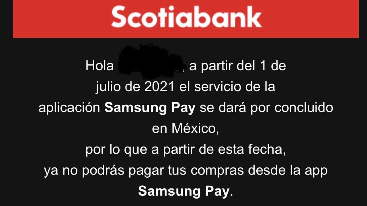 Samsung Pay México