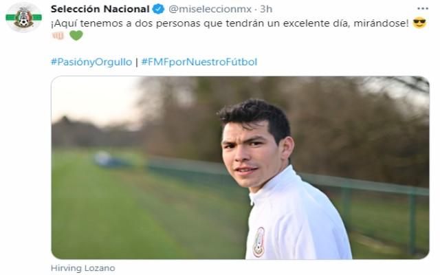 Lozano suele recibir convocatorias regularmente a la Selección Mexicana como la de la presente Fecha FIFA