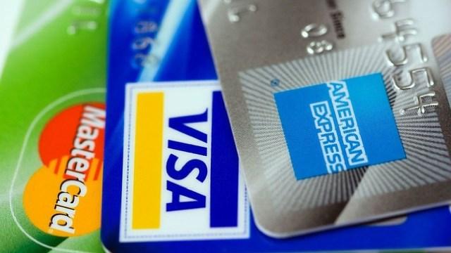 Errores al usar la tarjeta de crédito