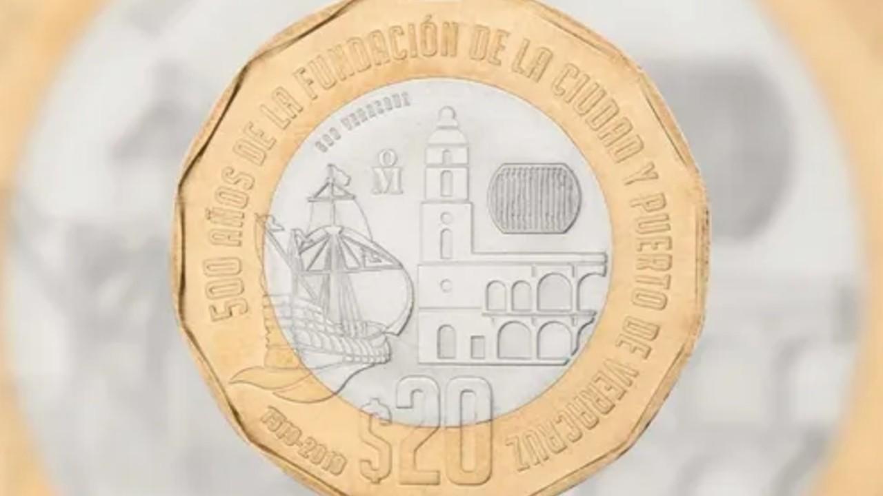 Por esta razón esta moneda de 20 pesos se vende en casi 24 mil pesos
