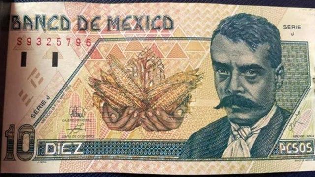 Billete de 10 pesos de Emiliano Zapata se vende en 25 mil pesos