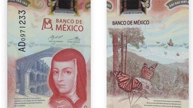 Cómo saber si un nuevo billete de 100 pesos es falso