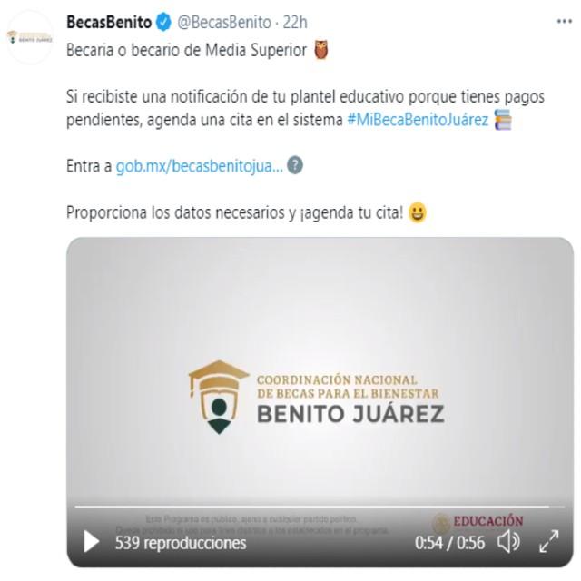 En redes sociales se compartió la información relacionada a los pagos pendientes
