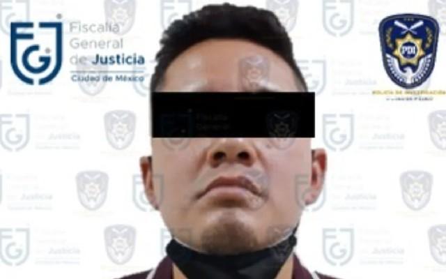 La Fiscalía General de Justicia de la Ciudad de México presentó al presunto culpable