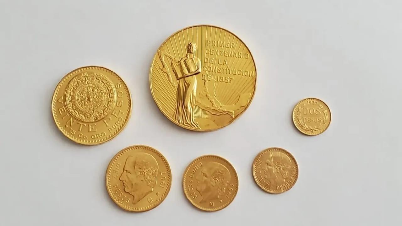 Puedes vender estas medallas conmemorativas de oro en 200 mil pesos