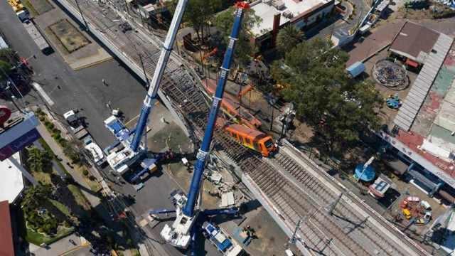Filtran información de porqué colapsó la línea 12 del metro