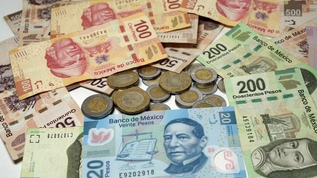 billetes y monedas de México