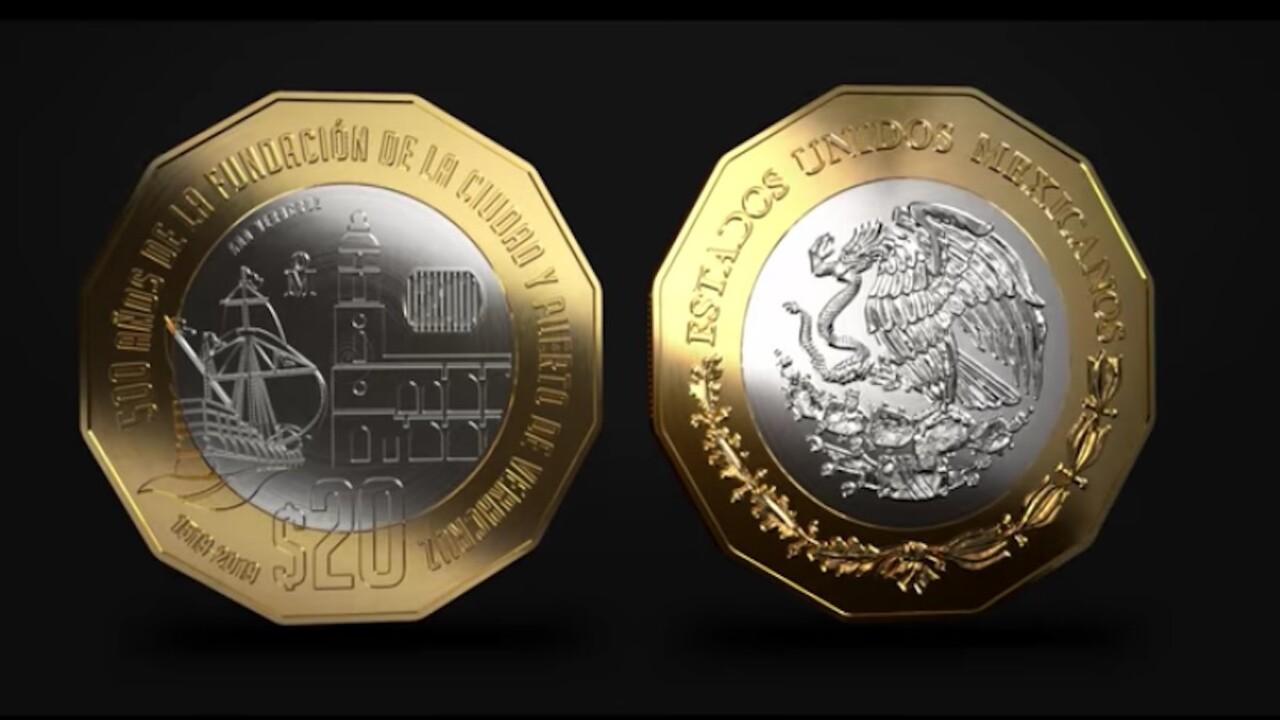 moneda de Emiliano Zapata cuánto vale
