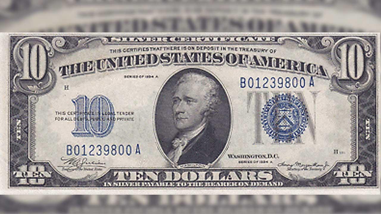 Este es el costo del dólar antiguo