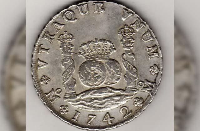 Monedas antiguas mexicanas falsas