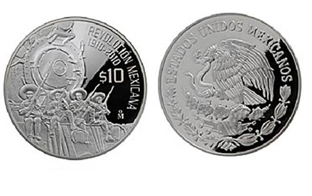 Monedas mexicanas y bonitas