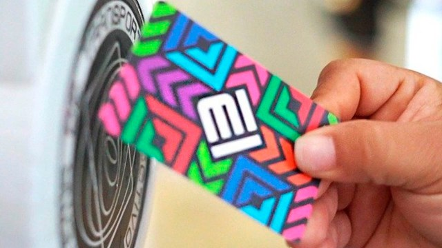 Recargar tarjeta del metro