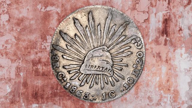 moneda antigua Mexico