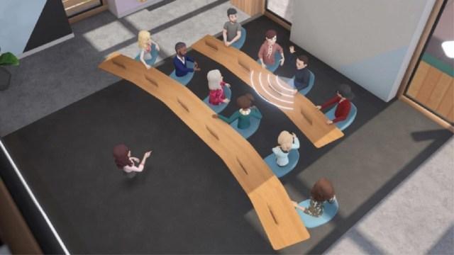 """En""""Horizon Workrooms"""", hasta 16 usuarios pueden trabajar a distancia por medio de realidad virtual"""
