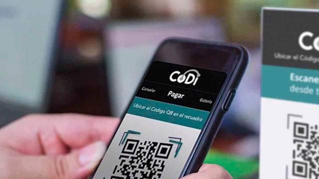 Pagar CoDI tarjetas